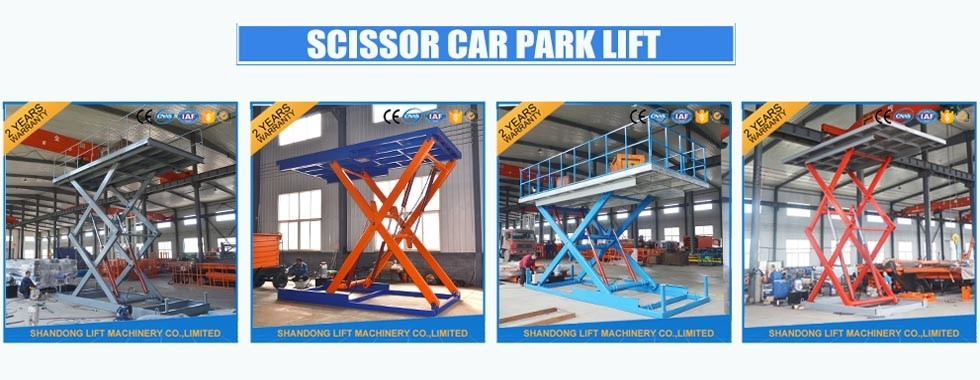 China best Hydraulic Scissor Car Lift on sales