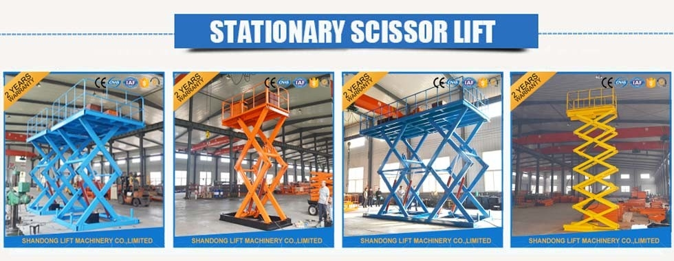 China best Stationary Hydraulic Scissor Lift on sales