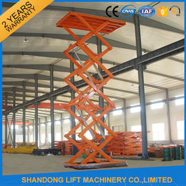 China CE Hydraulic Stationary Scissor Lift Work Table for Warehouse Cargo Lift supplier