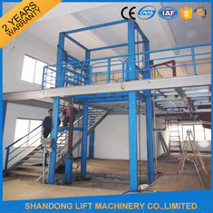 China 3000kgs Warehouse Hydraulic Elevator Lift , Vertical Fixed Residential Cargo Stair Lift supplier