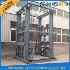 China Outside Electric Hydraulic Heavy Duty Elevator Lift with 2 m x 2 m Platform Size supplier