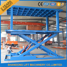 China Indoor / Outdoor Double Car Parking Hydraulic Platform Lift 1 ton - 20 ton Load Capacity Custom supplier