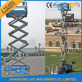 China Mobile Self Propelled Elevating Work Platforms Battery Powered 4m 10m 14m Lift Height supplier