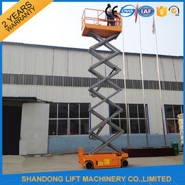 China Self Propelled Scissor Lifts Hire , Hydraulic Mobile Elevated Work Platform  supplier