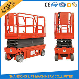 China Small Mobile Electric Hydraulic Lift Table for Rental / Material Handling / Aerial Work supplier