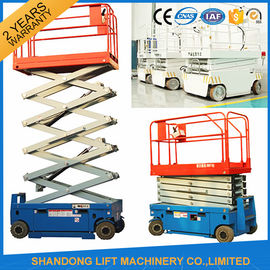 China Self Propelled Elevating Work Platforms , CE Hydraulic Electric Aerial Lift Scaffolding supplier