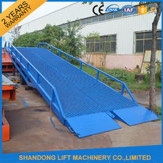 China Adjustable Loading Dock Ramp ,  Warehouse Container Loading Mobile Dock Ramp supplier