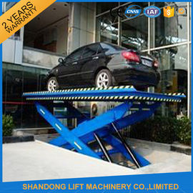 China CE Steel Hydraulic Scissor Car Lift with 3m Lift Height 3 T Load Capacity supplier