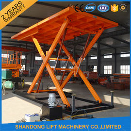 High Pressure Oil Pump Hydraulic Portable Scissor Lift Table for Home Garage
