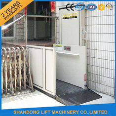 China Home Stair Elevator Wheelchair Platform Lift with Self Resetting System Drive Control supplier