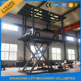 China Garage Elevator Automated Car Parking System with Limit Switch System Safety device supplier
