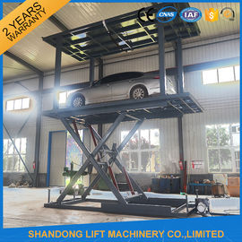 Garage Elevator Automated Car Parking System with Limit Switch System Safety device