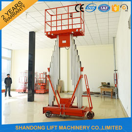 China Mini Light Weight Electric Truck Mounted Aerial Work Platforms 1.4 * 0.6 mm Table Size supplier