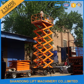 China Electric Hydraulic Mobile Platform Lift for Aerial Work / Decoration / Street Lamp Maintenance supplier