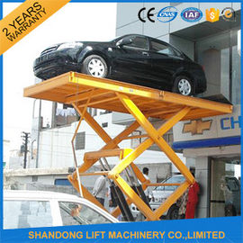 China Residential Hydraulic Scissor Car Lift , Automotive Car Lift for Home Garage Portable  supplier