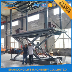 China Hydraulic Scissor Double Deck Car Parking System 2.5T Loading 3.3m Lifting Height supplier