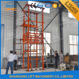 China 2.5T 3.6m Warehouse Hydraulic Elevator Lift for Goods , 3-6m/min supplier