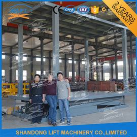 China 3T Double Deck Car Parking System 2 Car Stacker for Private Villa Double Car Parking Lift supplier