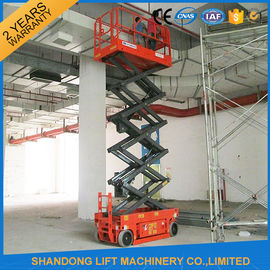 China Self - Propelled Scissor Lifts Aerial Lift Scaffolding 12 Months Warranty supplier