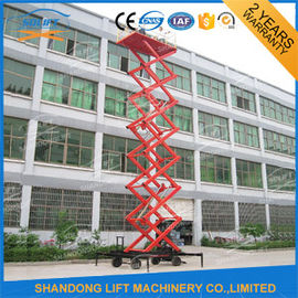 China Hydraulic Mobile Platform Lift Small Electric Scissor Lift SGS BV supplier