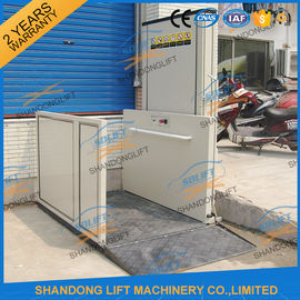 China Automatic / Stationary 250kg Stair Wheelchair Platform Lift for Home Disabled People supplier