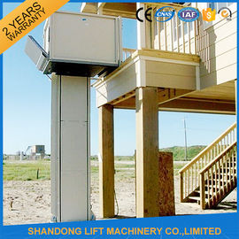 China Automatic / Stationary Wheelchair Platform Lift Aluminum Alloy With Powder Coating Material supplier