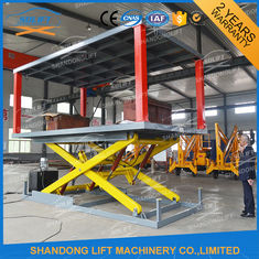 China Portable Double Deck Car Parking System 2 Sets Control System Easy Operation supplier