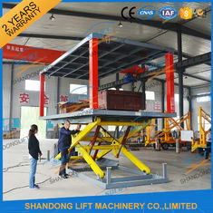 China 6T 3M Home Garage 2 Car Park Lift Double Deck Car Parking System with CE TUV supplier