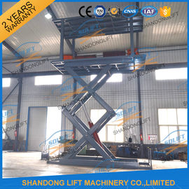 China 5T 5.36M Double Platform Scissor Car Lift for Villa In-ground Car Lift for House supplier