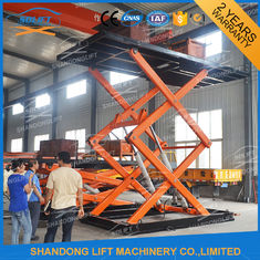 China Vertical Parking System Car Mini Lift Residential Pit Garage Parking Car Lift supplier
