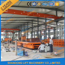 10T 8M Heavy Loading Material Lift Warehouse Stationary Hydraulic Scissor Lift CE TUV SGS