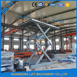 China 5M Home garage Car Lifting Equipment , Scissor Car Parking Lifts with CE TUV supplier