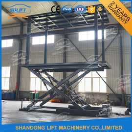6T 3M Double Deck Car Parking System Hydraulic Mobile Electric Garage Car Lift with CE