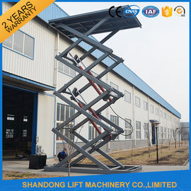 China Fixed Electric Hydraulic Automotive Scissor Lift Car Parking Equipment with CE supplier