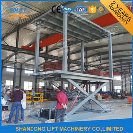 China Hydraulic Double Deck Car Parking System Double Platform Scissor Auto Lift supplier