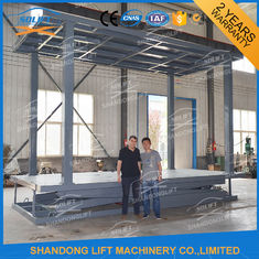 Hydraulic Double Deck Car Parking System Double Platform Scissor Auto Lift