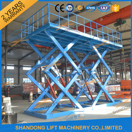China Heavy Duty Hydraulic Double Scissors Lift Platform for Warehouse supplier