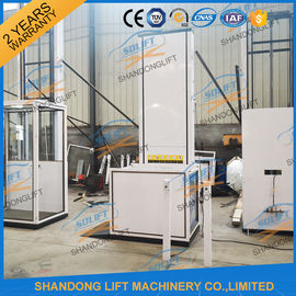 China Electric Wheelchair Elevator Lift / Residential Hydraulic Elevator For Old People supplier