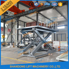 China Stationary Scissor Lift Platforms Hydraulic Lifting Equipment 5T 1.5m supplier