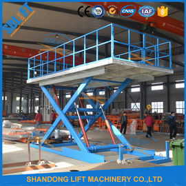 China Durable Home Garage Car Scissor Lift Heavy Duty Scissor Lift Table Multi Color supplier