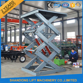 China 2 Ton 3m Hydraulic Elevator Lift , Warehouse Lift Platform For Cargo Lifting supplier