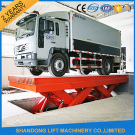 China Durable Hydraulic Scissor Car Parking Lift , Vehicle Scissor Lift With CE supplier