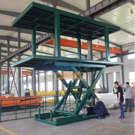 China 3T 2.5M Double Deck Car Parking System Hydraulic Car Lifts For Home Garages Car Parking supplier