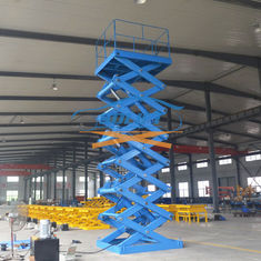 China 5T 6M Heavy Duty Stationary Hydraulic Scissor Lift Warehouse Cargo Lift With CE supplier