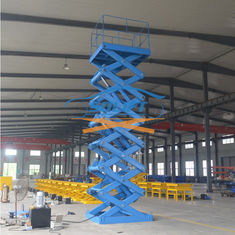 China 5T 6M Warehouse Cargo Lift With CE supplier