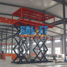 3T 6M Double Deck Car Parking System For Underground 2 - Cars Parking