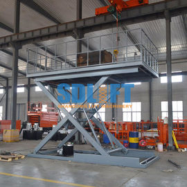 China 3T 3M Heavy Duty Underground Scissor Car Lift Parking System supplier