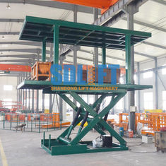 China Double Deck Car Parking System With 3 T Weight Capacity 2.8m Lifting Height supplier