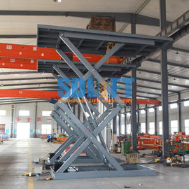 China 3 Ton 5M Hydraulic Scissor Car Lift Underground Car Parking Lift With CE supplier