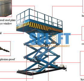 China Hydraulic Elevator Warehouse Lift Platform supplier
